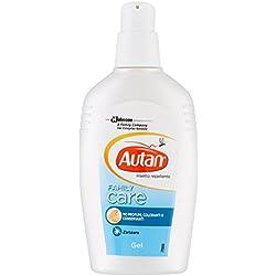 Johnson Autan family care, gel repelente - 3 Paquetes de 133.33 gr - Total: 400 gr