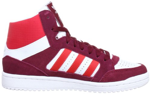 adidas Originals Pro Play, Baskets mode homme Blanc (White Ftw/Vivid Red S13)