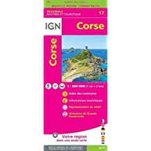 Carte Corse Gratuite Imprimer.Amazon Fr Carte Routiere Corse