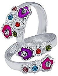 CS Jewellers Fancy Silver Toe Ring