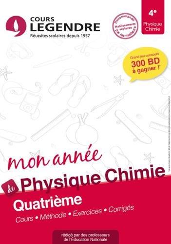 Physique Chimie 4e Cahier de Vacances 4ème