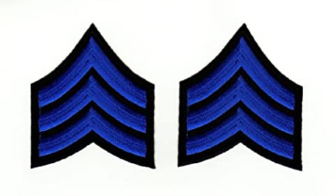 Bestellmich aufbügler Iron On Patches application Army Sergent insigne Armée