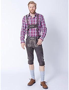 Herren Trachten Lederhose Rudi aus 100% Echtleder