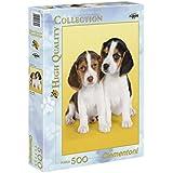 Clementoni - Puzzle de 500 piezas, High Quality, diseño Nice Beagles (303564)