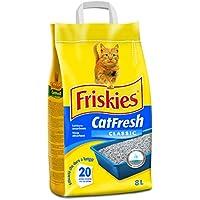 Friskies - CatFresh Classic - Arena para Gatos - 8 l