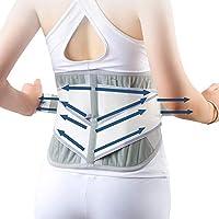 Rückenstütze, 4 Abstandshalter, Verstellbare Rückenstütze Für Lenden Rückenschmerzen, Rückenstütze, Taillengurt... preisvergleich bei billige-tabletten.eu