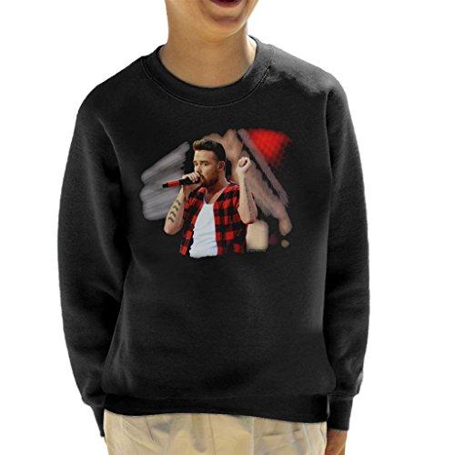 Liam Payne of One Direction Murrayfield Stadium 2014 Kid's Sweatshirt