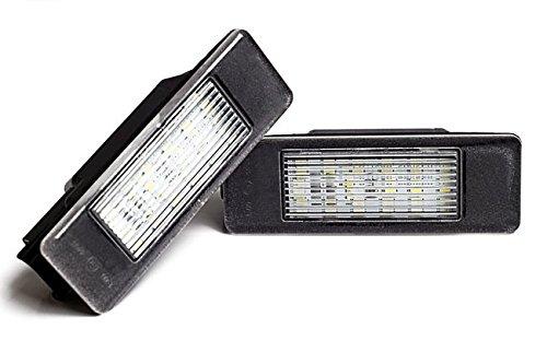 LED Kennzeichenbeleuchtung ohne Fehlermeldung mit E-Prüfzeichen Eintragungsfrei -