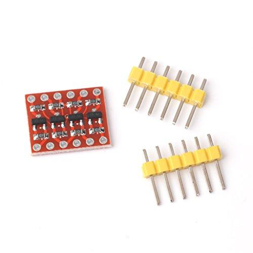 4 Kanäle Logic Höhe Konverter Bidirektionale Shifter Modul 3,3 V-5V