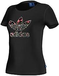 adidas Trefoil Tee - Camiseta para mujer
