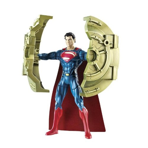 Man Of Steel Movie: Deluxe Action Figure Bashing Superman