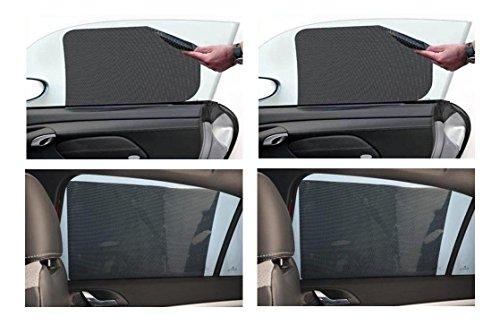 Curtains Ideas car window curtain : Automaze 4 Pc Car Electro Static Water Curtain Mesh Window Curtain ...