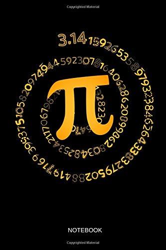 π - Notebook: Pi Spiral - Blank Dotted Pi Math Notebook / Journal  Funny  Math Accessories & Novelty Pi Day and Math Gift Idea for Kids, Math  Teacher,