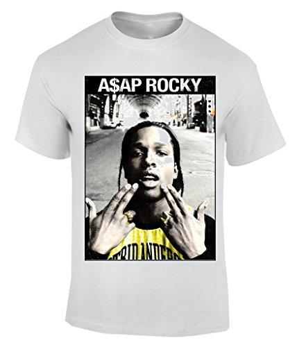 Asap Rocky - X-Large T-Shirt Herren (Asap Beanie)