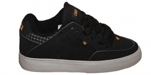 Circa Skateboard Shoes 205 Vulc Kids Black/Paloma Grey, shoe size:32