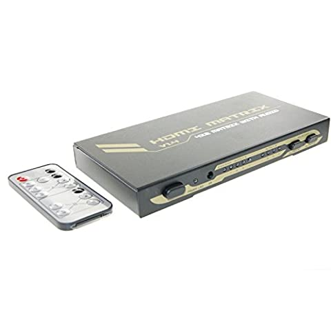 Ex-Pro® AV-Pro 4x2 Port HDMI Matrix [4 in 2 out]
