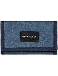 Quiksilver Barter - Monedero para Hombre, Color: VALLARTA BLUE, Talla: M