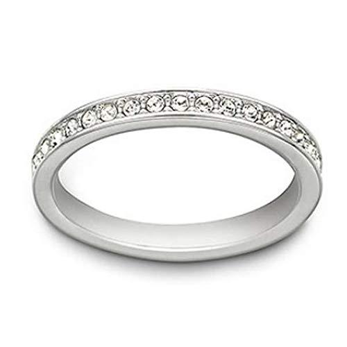 Swarovski Damen-Ringe Edelstahl Kristall \'- Ringgröße 50 1121065