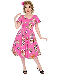 Hearts & Roses London Kleid J'Adore Swing Dress 5472 Pink M