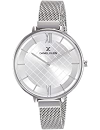 Daniel Klein Analog Silver Dial Women's Watch-DK11473-1