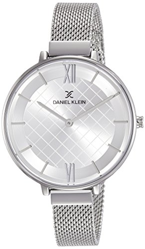 Daniel Klein Analog Silver Dial Women's Watch - DK11473-1