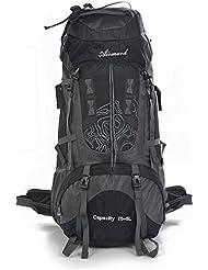 Trekking rucksäcke herren,Airmark 80L Großer Wasserdichter Trekkingrucksack sport rucksack für Reisen outdoor Camping Wandern Reise