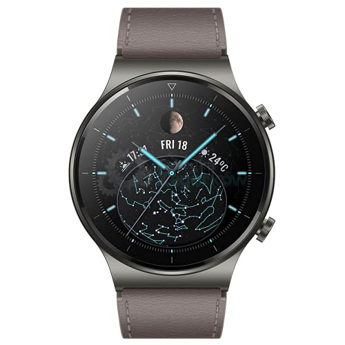 """Oferta de HUAWEI WATCH GT 2 Pro - Smartwatch con pantalla AMOLED de 1.39"""", hasta dos semanas de batería, GPS y GLONASS, SpO2, +100 modos de entrenamiento, llamadas bluetooth, color gris"""