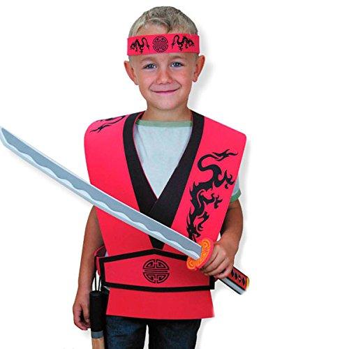 Unbekannt Le Coin des Enfants Le Coun des enfants27408historischen Kimono Plus Ninja Stirnband (One Size) - Plus-kimono