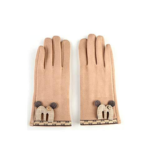 (Beydodo Handschuhe Wasserdicht Outdoor Beige Handschuhe Winter Wasserdicht Handschuhe Sport Damen)