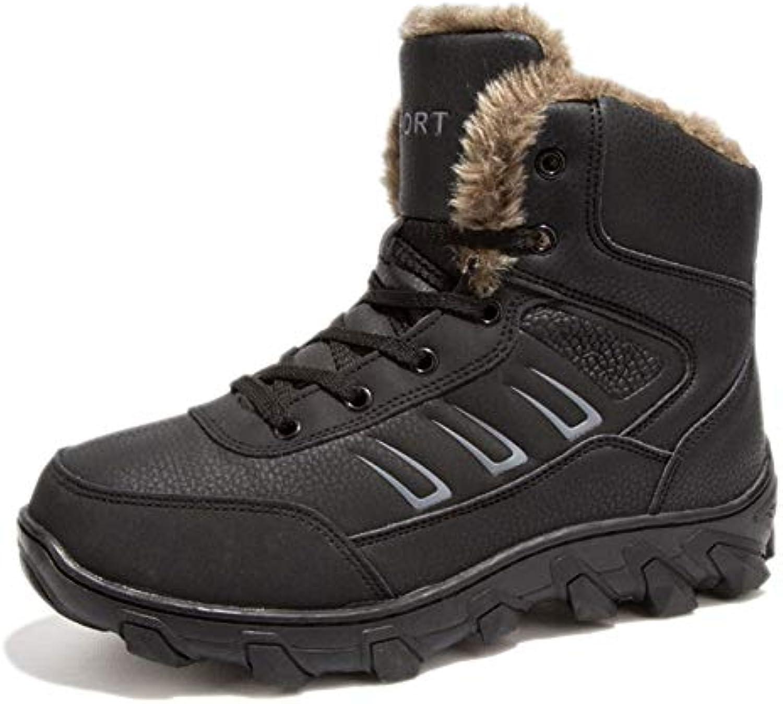 Scarponi da Neve Mens Caldi Stivali Invernali Scarpe Invernali da Trekking Lace Up Antiscivolo Calzature da Esterno... | Prima il cliente  | Sig/Sig Ra Scarpa