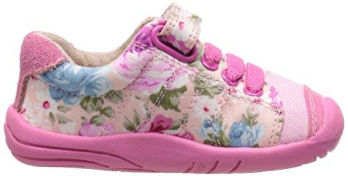 pediped Jake, Baskets Basses Fille Rose - Pink (Pink Floral)