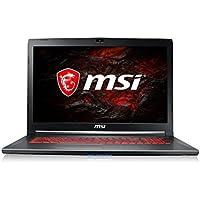 MSI GV72 17.3 inch FHD Gaming Laptop (Core i7-7700HQ, 8GB RAM, 1TB HDD, GTX 1050 Graphics, Windows 10 Home) 7RD-833UK - Black