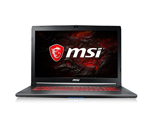 MSI GV72 17.3 inch FHD Gaming Laptop (Core i7-7700HQ, 8GB RAM, 1TB HDD, GTX 1050 Graphics, Windows 10 Home) 7RD-833UK - Black