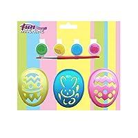 uovo di Pasqua set di stencil. Decorare le uova con questo set di stencil, 1coniglietto e 2uova di Pasqua disegni. Età 3+ spedizione gratuita nel Regno Unito