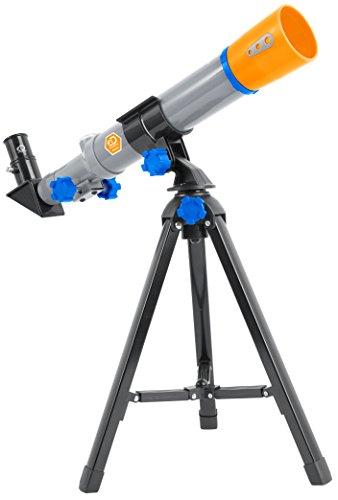 Discovery Adventures 40 mm Einsteiger Teleskop mit 2 Okularen, Umkehrlinse und Tischstativ