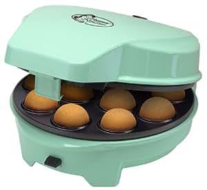 Bestron -  ASW238 3 en 1 Sweet Cake Maker pour Cakepop/Donut/Cupcake Vert Mint 700 W - Turquoise