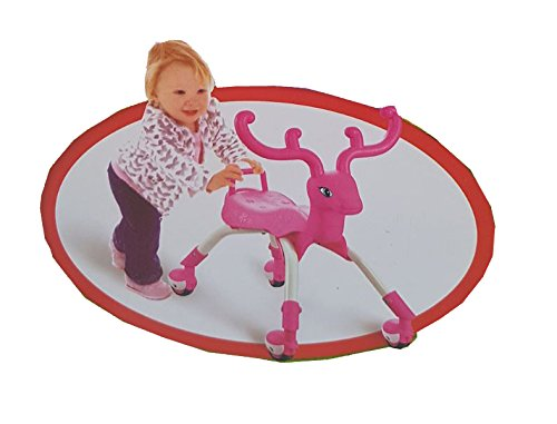 Unbekannt Kinderspielzeug Rentier zum Reiten oder Reiten (ROSA)