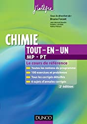Chimie tout-en-un MP-PT - 2e éd. - Le cours de référence