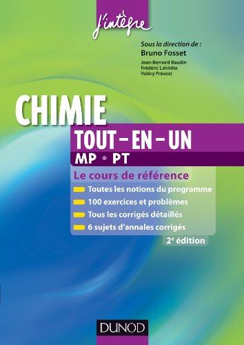 Chimie tout-en-un MP-PT - 2e éd. - Le c...
