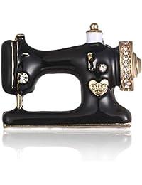 Formulaone Máquina de Coser Vestido Clip Exquisito Chica Pernos de la Bufanda Moda Broche Pin Simple