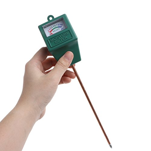 Manyo Bodenfeuchtigkeit mit Langer Sonde, Soil Moisture Sensor Messgerät, für Garten, Bauernhof, Rasen, Innen- und Außenbereich (Luftbefeuchter, Outdoor-sensor)