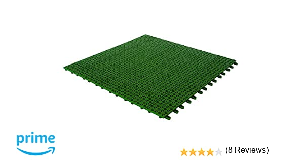 Multiplate 03mpve piastrella da esterno verde: amazon.it: giardino