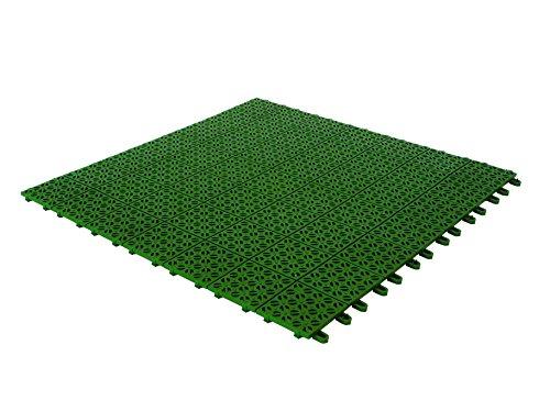 Baldosas flexibles en plástico, 55,5 x 55,5 cm, por interior / exterior...