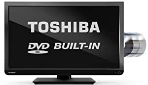 Toshiba 24D1433B/24D1433B2 24-inch High Definition LED TV with Built-In DVD Player (Discontinued by Manufacturer)