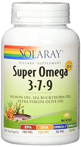 Solaray Super Omega 3-7-9, 90 Cpsulas