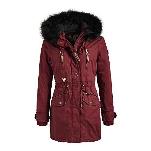 khujo Damen Jacke Freja Red