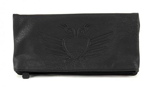 Fritzi aus Preußen Ronja BW Kuba Clutch Umhängetasche 29 cm black2