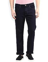 Seasons Navy Raw Denim Regular Fit Jeans With Wallet