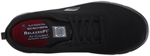 Skechers Mens Flex Advantage Bendon Work Shoe Black