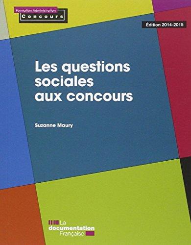 Les questions sociales aux concours - Edition 2014-2015